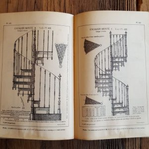 Catalog antique stairs