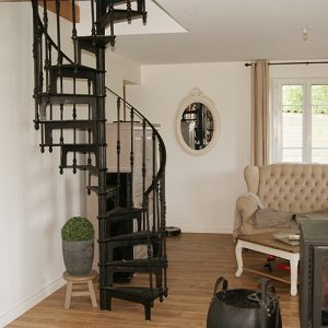 Cast iron vintage staircase