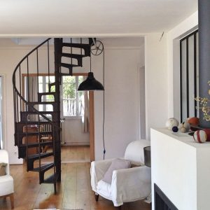 Staircase modern home interior